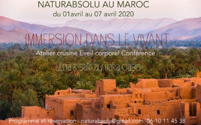 Stage d'avril au Maroc
